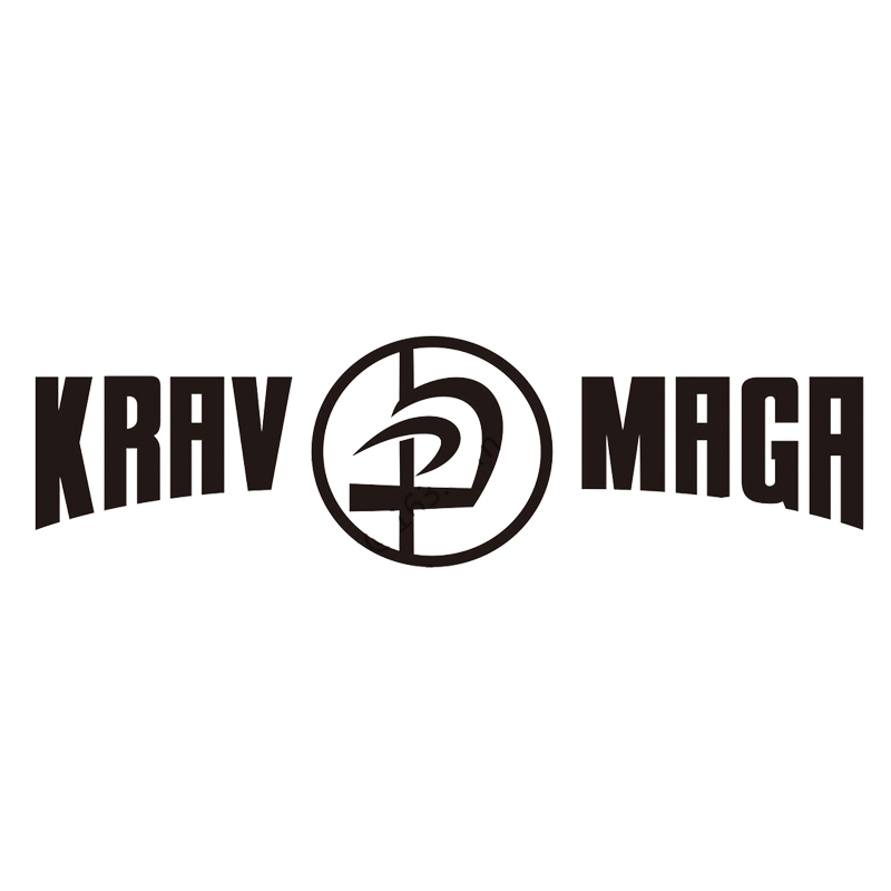 For Krav Maga Decal Sticker Combat Israel Defence Force Car Trunk Vinyl Die Cut Vinyl Decal Bumper Sticker Car Styling