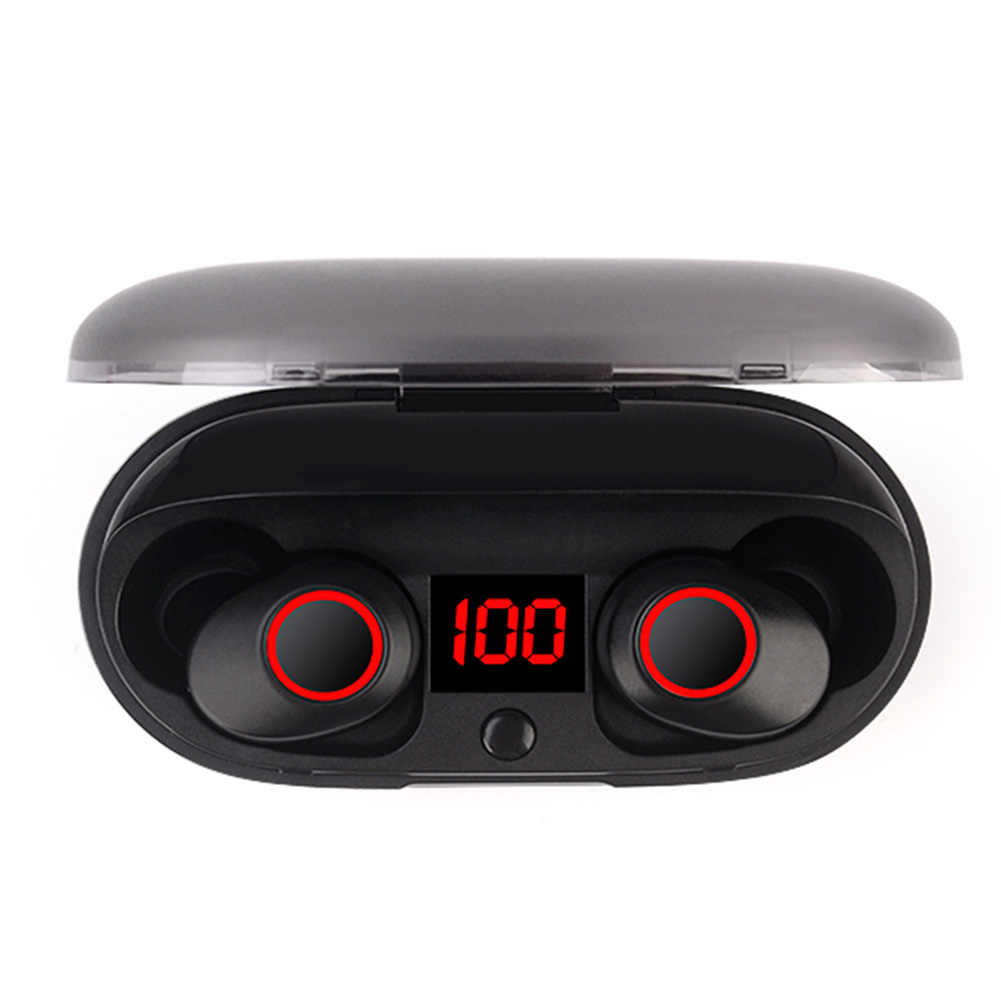J29 Bluetooth 5.0 TWS Battery Display Mini Wireless Ear buds Twins Earphone Headphones With Battery Case Hands Free