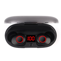 J29 Bluetooth 5.0 TWS Battery Display Mini Wireless Ear buds Twins Earphone Headphones With Battery Case Hands Free rockspace eb30