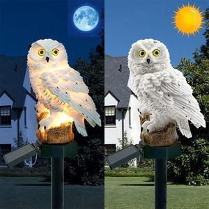Adeeing Owl Shape Solar-Powere