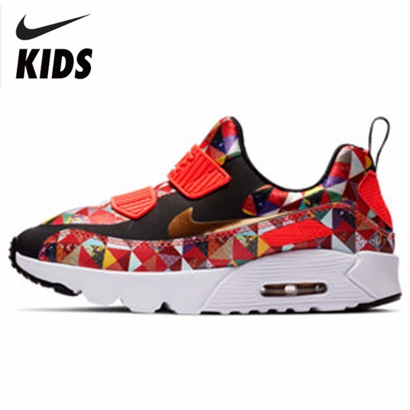 NIKE AIR MAX TINY 90 BP Toddler Motion Children Shoes Kids Running Shoes  Comfortable Sneakers   5a7a14fbee