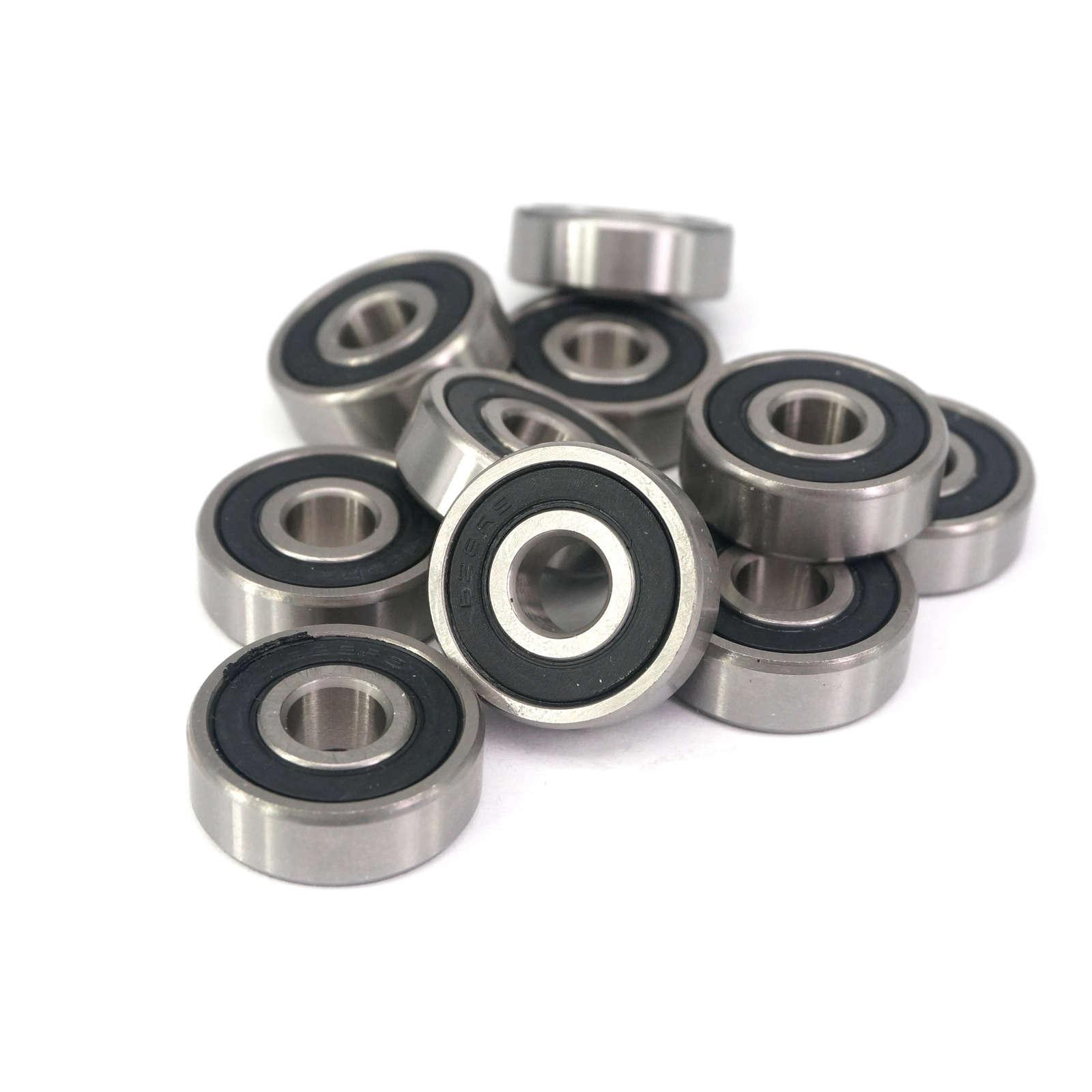 628-2RS 8x24x8mm ABEC1 Thin-wall Shielded Deep Groove Ball Bearing image