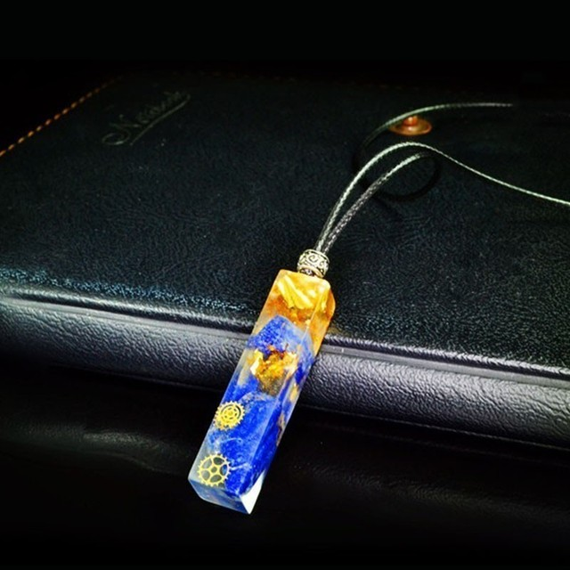 Natural Energy Orgonite Pendant