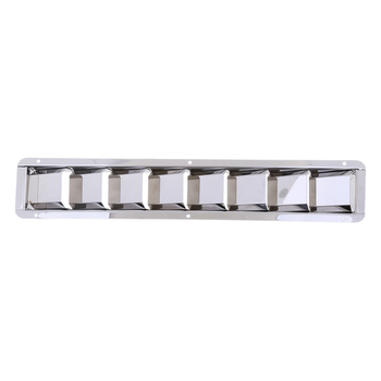Stainless Steel 8 Slot Air Vent Ventilation Grill Walls Doors