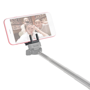 Image 3 - Andoer PC 100 Adjustable Metal Mini Cell Phone Clamp Tripod Adapter Phone Holder for iPhone Samsung Huawei Xiaomi High Quality