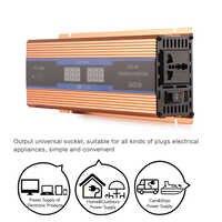 Voiture électronique onduleur 2600 W DC 12 V à AC 220 V onduleur chargeur convertisseur robuste Durable véhicule alimentation interrupteur