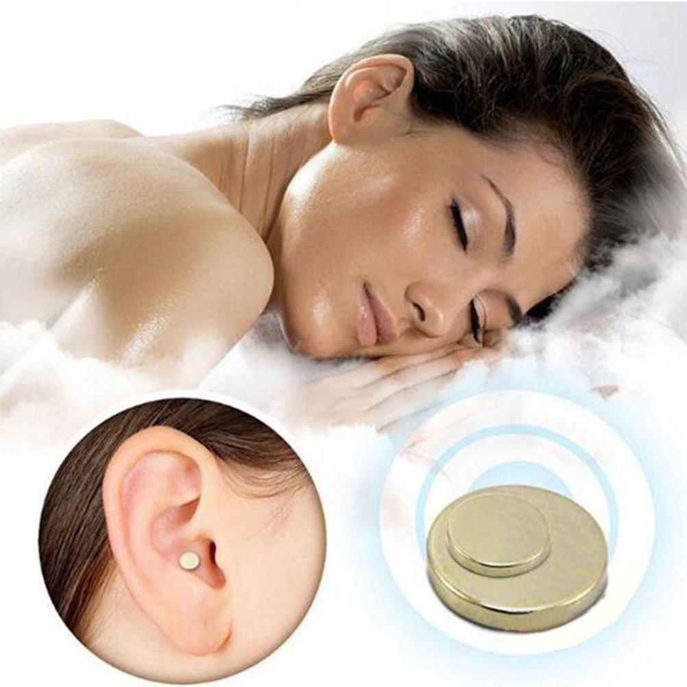 1 Pair Magnetic Therapy Quit Stop Smoking Smoke Magnet Magnetic Therapy Ear Auricular Loss Weight Acupressure