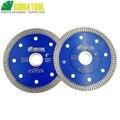 Алмазный режущий диск SHDIATOOL 2 шт., X сетчатый турбо-обод, сегментный диаметр 4, 4,5, 5, 7, 8, 9, 10 дюймов, алмазная пила, резка мраморной плитки