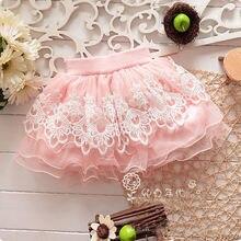 Pudcoco/Новинка; брендовая Летняя мини-юбка с цветочным рисунком для маленьких девочек; детская юбка-пачка