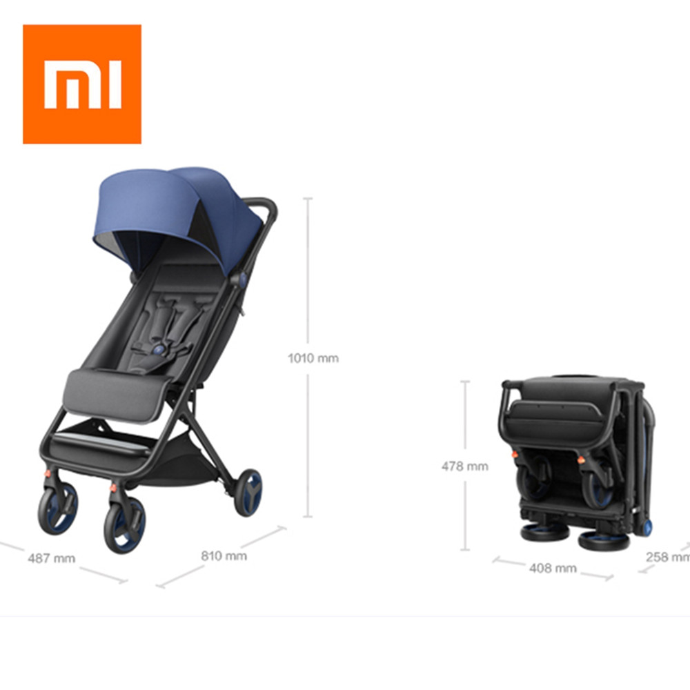 Xiaomi Folding Baby Stroller Car Lightweight Trolley Pram Four Season Use Hot Mom Stroller Portable On The Airplane And CarXiaomi Folding Baby Stroller Car Lightweight Trolley Pram Four Season Use Hot Mom Stroller Portable On The Airplane And Car