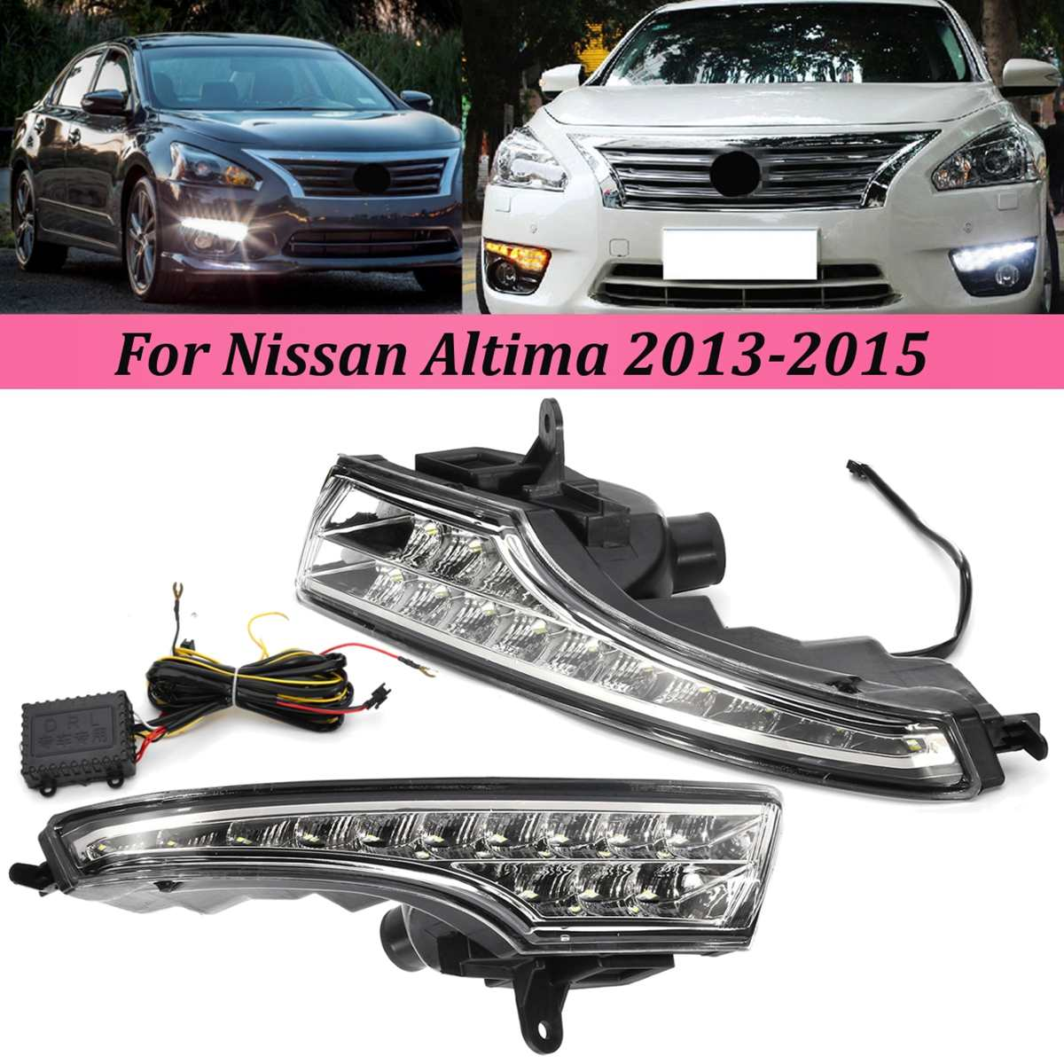 Power w//Turn Signal Lamp Mirror Left Right Side SET PAIR For 13-15 Altima 4-Door