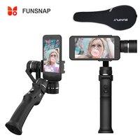 Capture 3 axes poignée de téléphone stabilisateur de cardan pour Smartphone GoPro 6 SJcam XiaoYi 4 k caméra ZHIYUN FEIYUTECH pour iPhone Samsung