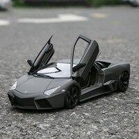 1:18 Simulation Alloy Sport Car Model Lamborghinis Reventon Steering Wheel Control Front Toys For Children Diecast HotsWheel