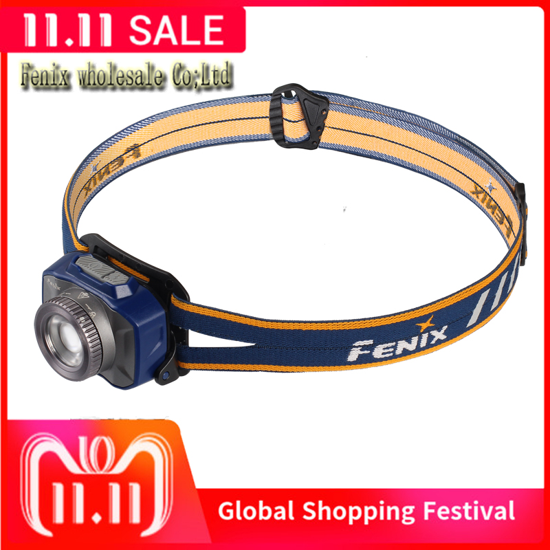 Fenix HL40R Headlamp rechargeable focusing headlamp Micro USB port fitted with a built in 2000mAh