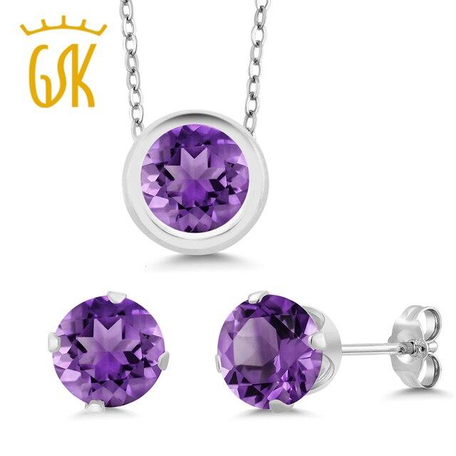 bf8f792f9061e Top 10 Punto Medio Noticias | Amethyst Jewelry Sets Diamond