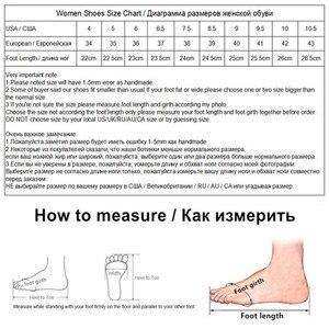 Image 5 - KATELVADI גבירותיי נעליים בז פיצול עור 6.5CM גבוהה עקב משאבות נשים נעלי Sapato Feminino הנעלה גודל 34 42 K 324