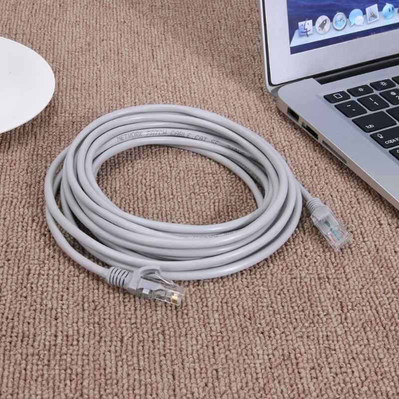 1 m-10 メートルのイーサネットケーブル高速 RJ45 ネットワーク LAN ケーブルルーターコンピュータケーブル用ネットワーク接続