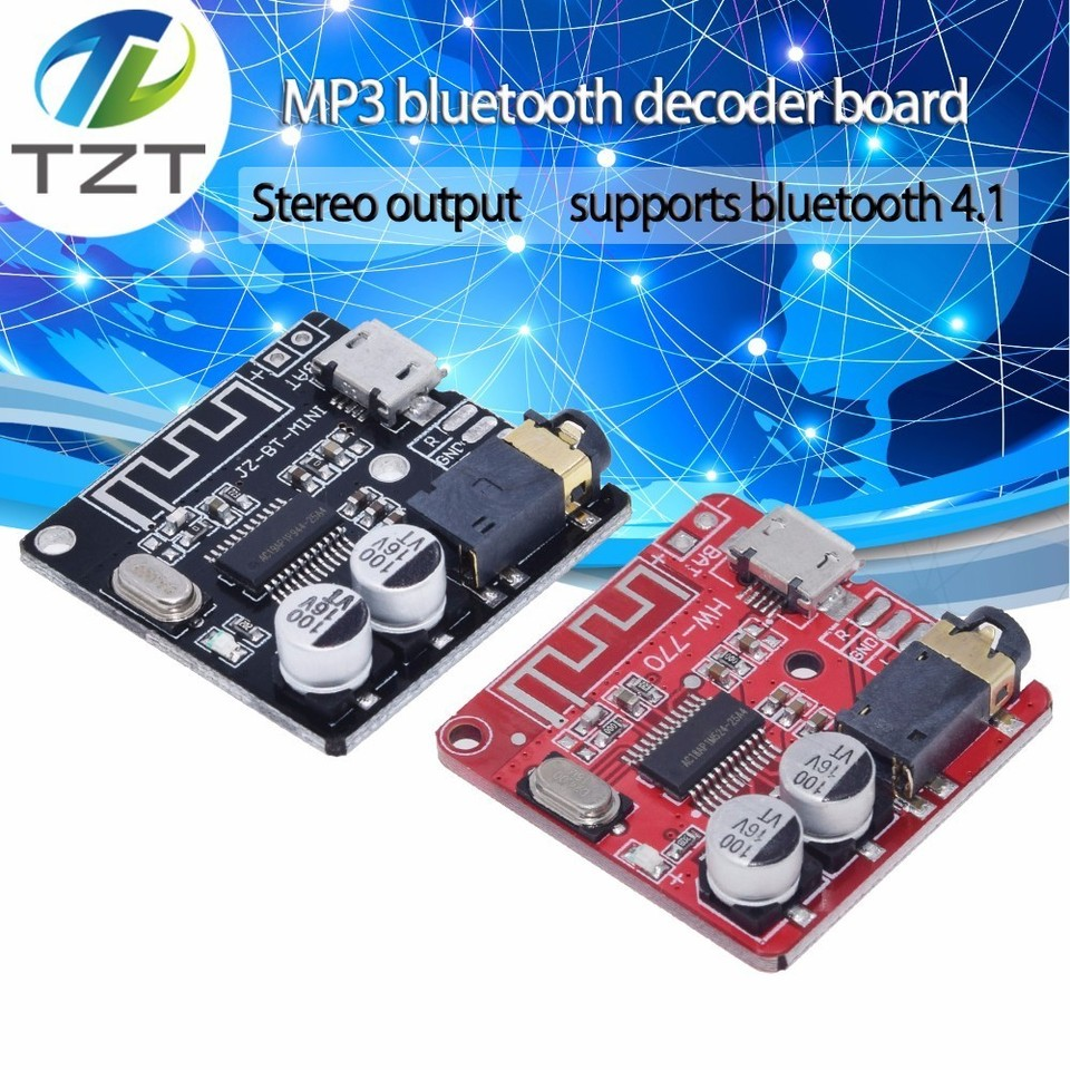 3.7-5V Bluetooth 4.1 MP3 Wireless Stereo Music Module lossless decoder board