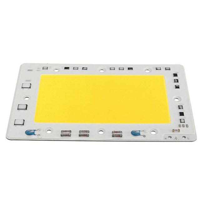 CLAITE 10pcs LUSTREON Pure White 150W 15000LM DIY COB LED Light Chip Bulb Bead 160x100mm For Flood Light AC 220V