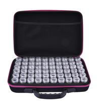 60 Slots Embroidery Diamond Painting Accessory Case Plastic Beads Storage Boxes Multifunctional Essential Oil Bottle Storage Bag