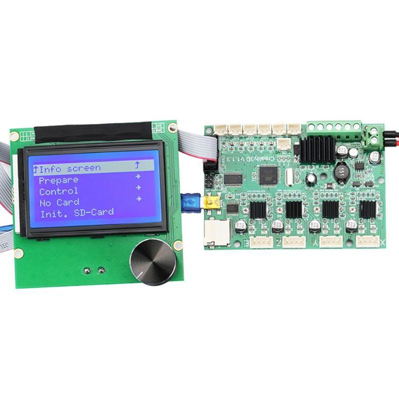 Imprimante 3D Ender-3 carte mère Ender-3S + 12864 câbles d'affichage LCD