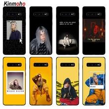 Kinmoho Billie Eilish Phone Cases Cover For Samsung Galaxy S9 S8 S10 Plus S7 A5 J5 J7 2017 A7 2018 A8 A9 Coque Capinha Soft TPU
