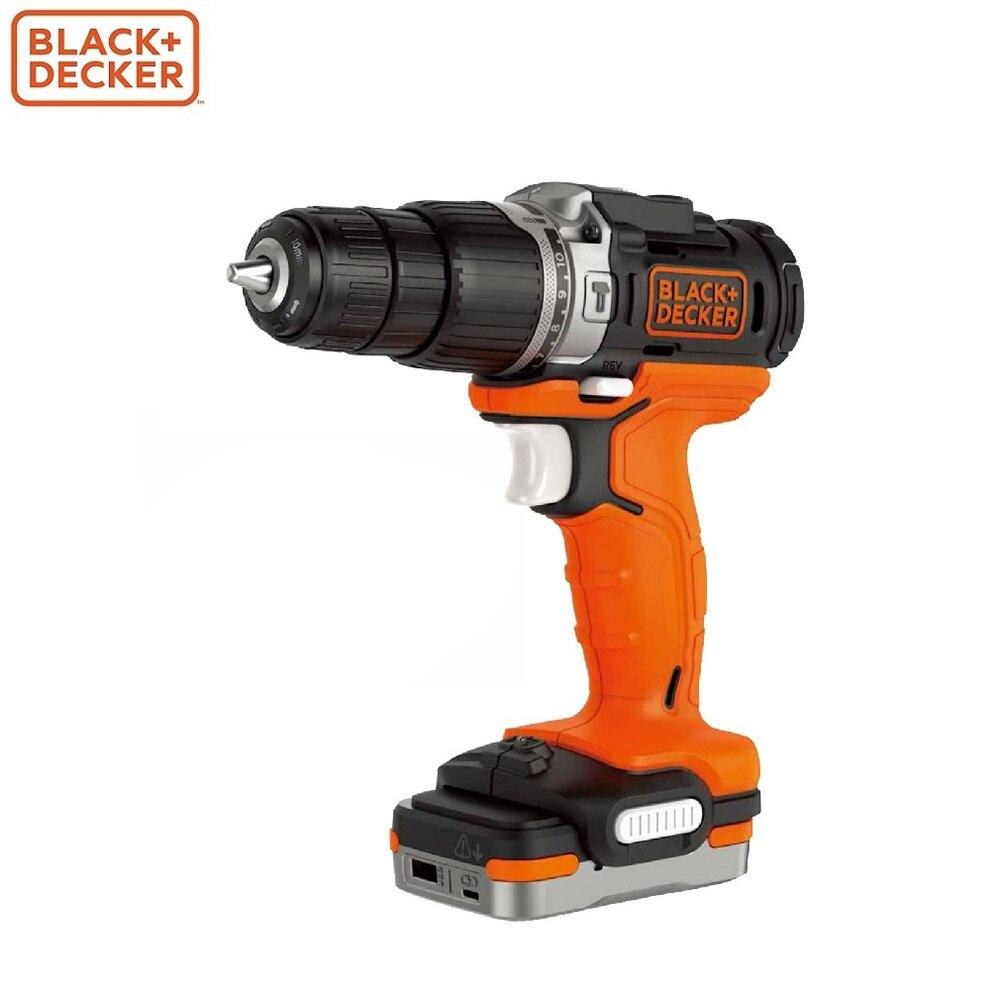 Electric Screwdriver Black+Decker BDCHD12S1-XJ screwdrivers drill repair hand tools home repairs powers screwdriver black decker ld12sp ru screwdrivers drill repair hand tools home repairs