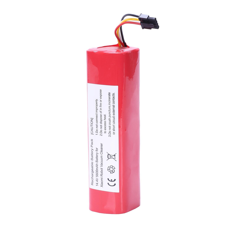 MMFC-Rechargeable 5200 batterie mah Pour Xiaomi robot aspirateur Li-Ion Lithium Accessoires Pièces