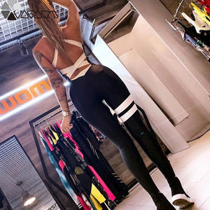 Yoga Jumpsuit Tracksuit Workout Clothes Sports-Pants Active Fitness One-Piece Sexy Running