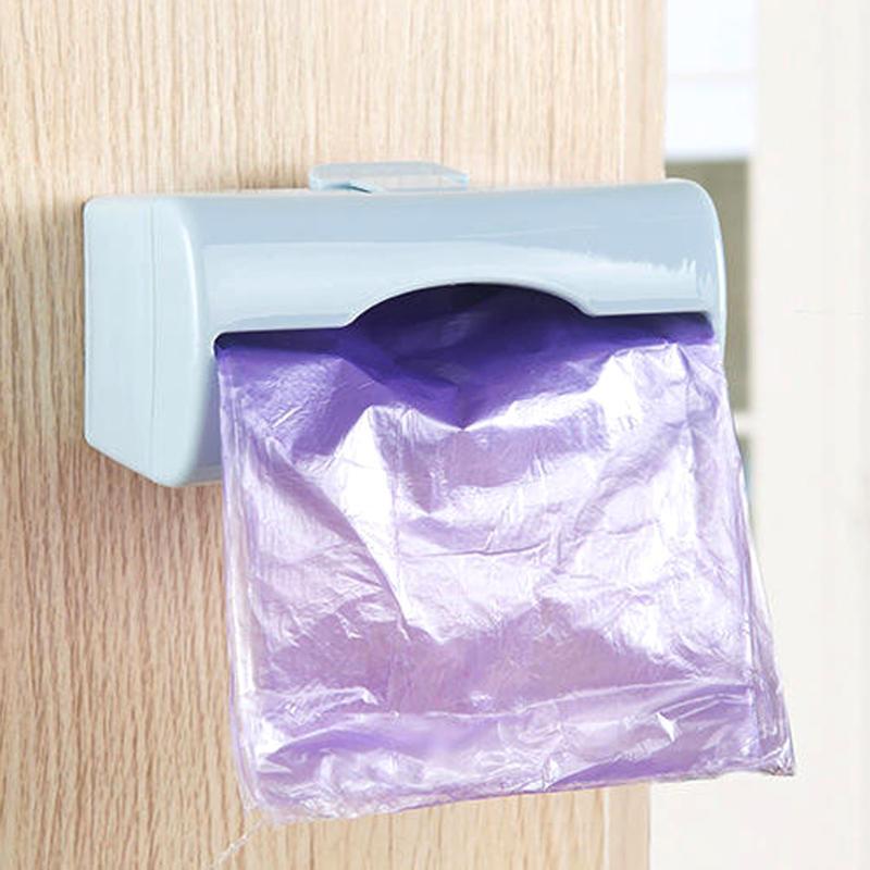 Настенный пластиковый пакет, коробка для хранения, мусорные мешки, контейнер для хранения, Многофункциональные кухонные инструменты, коробка для салфеток