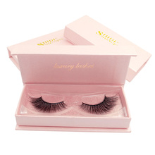 SHIDISHANGPIN hand made 3d mink eyelashes makeup false extension individual volume eyelash full strip lashes