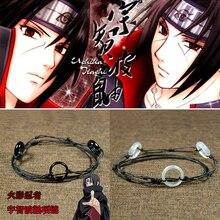 Anime font b Naruto b font Uchiha Itachi Necklace jade Pendant Cosplay Costume Props