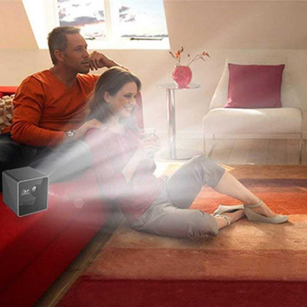 Ig-mini 1080P projektor led full hd DLP WL-P1 przenośny kino domowe (czarny)