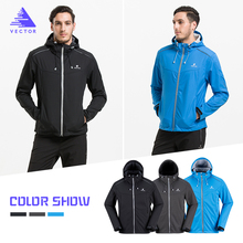VECTOR Softshell Jacket Men Outdoor Jacket Windproof Waterproof Jacket Male Camping Hiking Jackets Rain Windbreaker 60025 rax winter outdoor waterproof hiking jacket for men fleece windbreaker windproof softshell jacket men s thermal rain jackets men