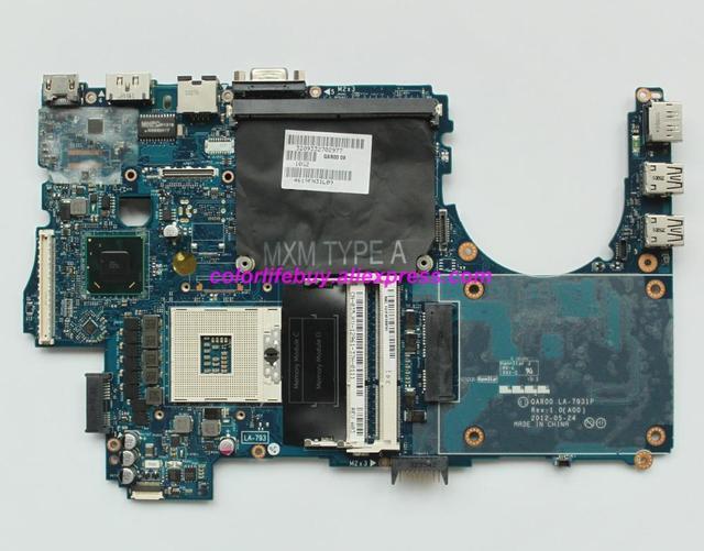 حقيقية 35JKV 035JKV CN 035JKV QAR00 LA 7931P اللوحة المحمول لديل الدقة M4700 الكمبيوتر الدفتري