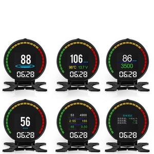 Image 4 - Velocímetro bluetooth p15, velocímetro digital com display hd tft, com alarme, medidor de pressão sanguínea e temperatura da água leitor de leitura