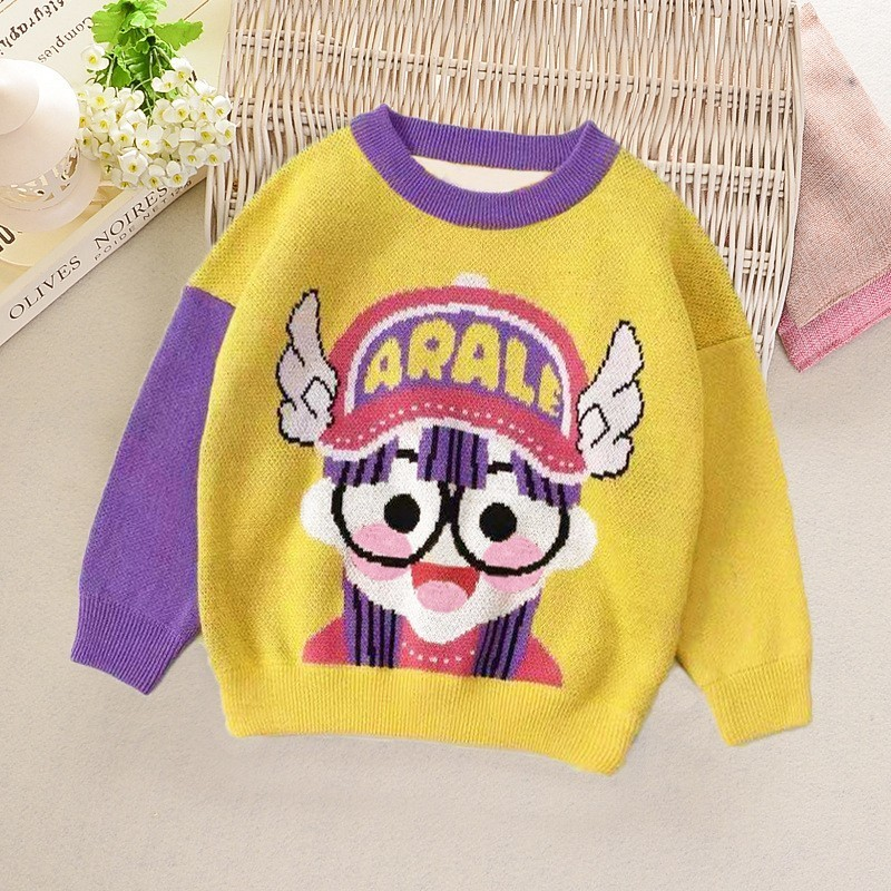 717b9016cfcf Boys Sweaters Cartoon Baby Girl Knitwear Jumper Autumn Winter Sailor ...
