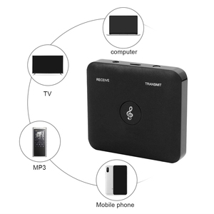 Image 4 - Bt1 Bluetooth 4.2 Transmitter Receiver 2 In 1 Universal Wireless Audio Adapter For Phone Pc Home Tv Stereo 3.5Mm Audio+Usb&Rca