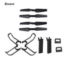 Originele Eachine E58 RC Drone Quadcopter Onderdelen Crash Pack Kits Propeller Blade Set Met Clip Props Guard Landingsgestel(China)