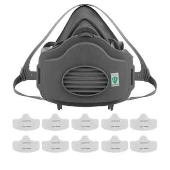 3200 Respiratory Protective Mask Anti PM2.5 Gas Filter Respirator Dust Mask - DISCOUNT ITEM  50% OFF All Category