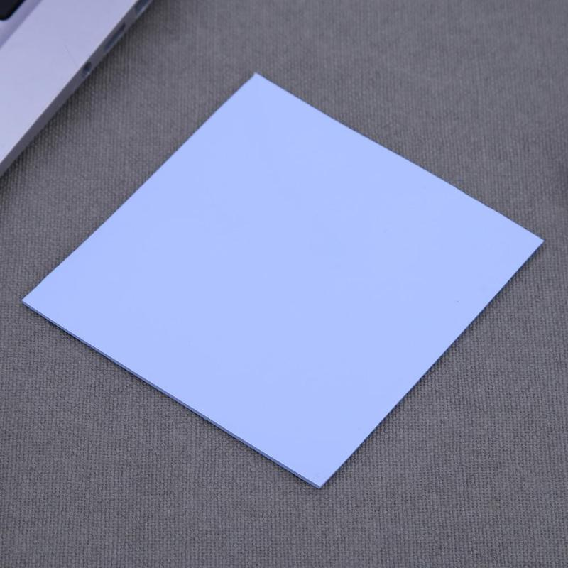 New 100x100mm 0.5mm Silicone Thermal Pad Sheet Computer CPU Graphics Chip Heat Sink Heatsink Cooling Conductive Thermal Pad