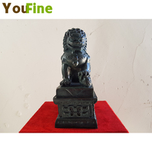 YOUFINE copper casting Asian lion Tiananmen ball Nafu auspicious lucky furniture upholstery can be customiz