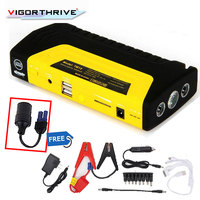 Car Jump Starter Car power bank power High capacity auto vehicle starting power bank for car auto motor 12V 600A starter booster