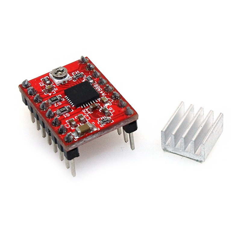 A4988 Compatible Stepper Stepstick Motor Diver Module With Heat Sink For 3D Printer Controller Ramps 1 4 Pack Of 5Pcs in Motor Driver from Home Improvement