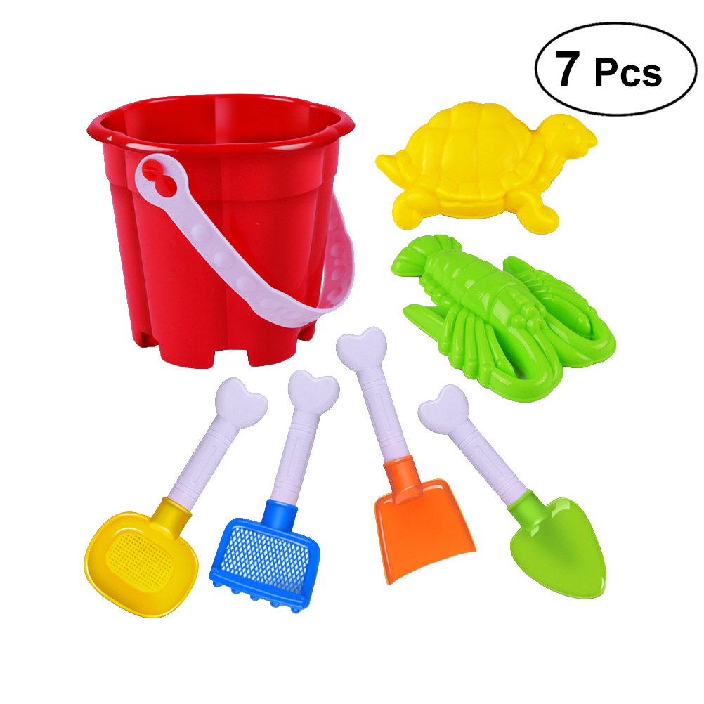 Toys & Hobbies Boys And Girls Outdoor Beach Toys 14 Spcs Sand Hourglass Bucket Tool Parent-child Interactive Toys The Best Gift For Children
