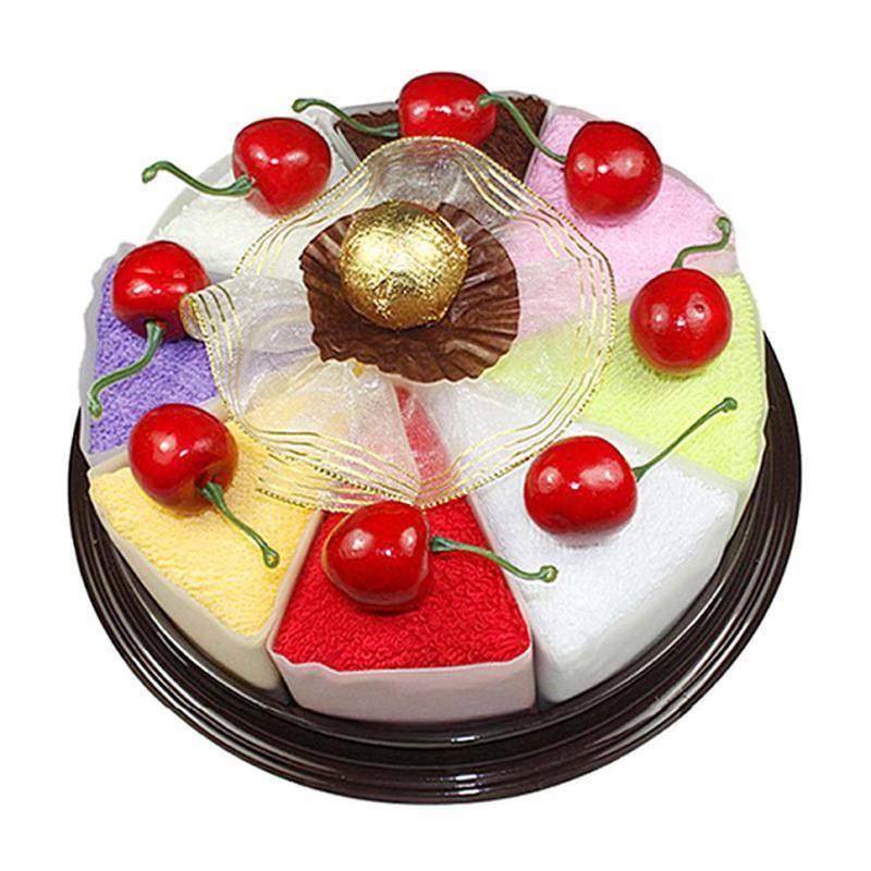 Pretend Play Kitchen Toys Fashion Household Sandwich Cake Ornament Towel Present Food Girls Toys For Children Kids Birthday Gift