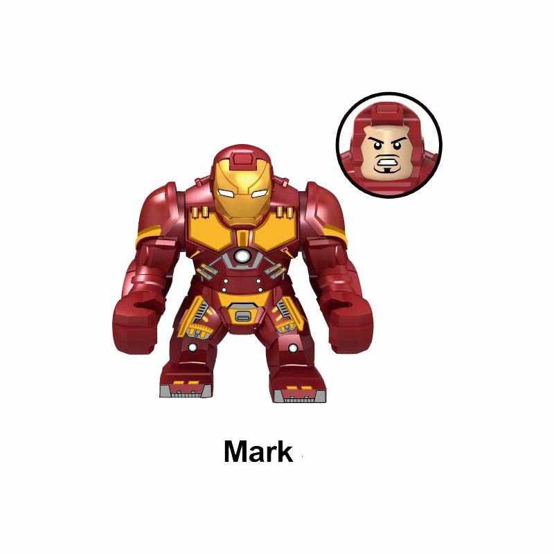 New Marvel Superhero Avengers Iron Man Mech Figures Building Blocks toy for children Gifts