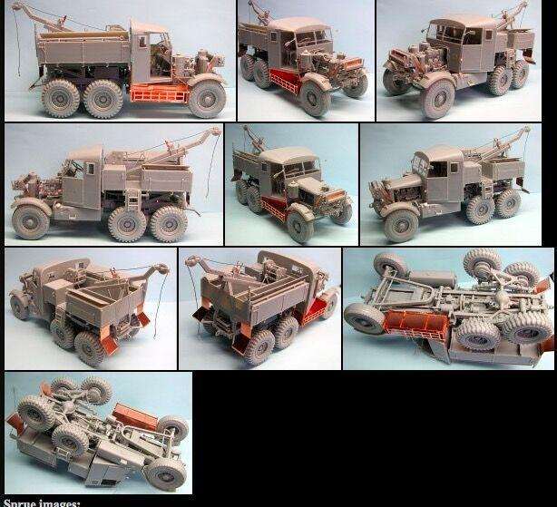 Thunder Model TM35201 1//35 British Army Scammell Pioneer Recovery SV//2S