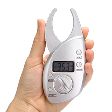 2019 New 1pc Digital Skinfold Measuring Tester Body Fat Monitor Analyzer Muscle Slim Caliper Shaping Weight Loss