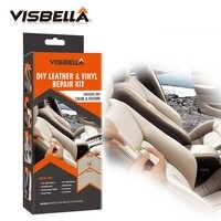 VISBELLA Leder Vinyl Reparatur Kit Kleber Farbe Paste für Auto Reparatur Hand Werkzeug Sets Sitz Kleidung Leder Stiefel Reißt fix riss Schnitte